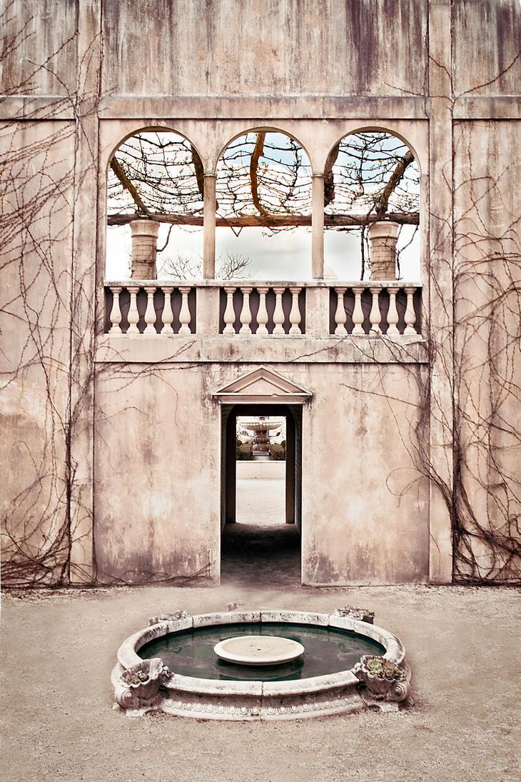 Courtyard by CathleenTarawhiti