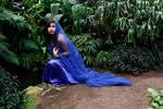 Blue maiden by CathleenTarawhiti