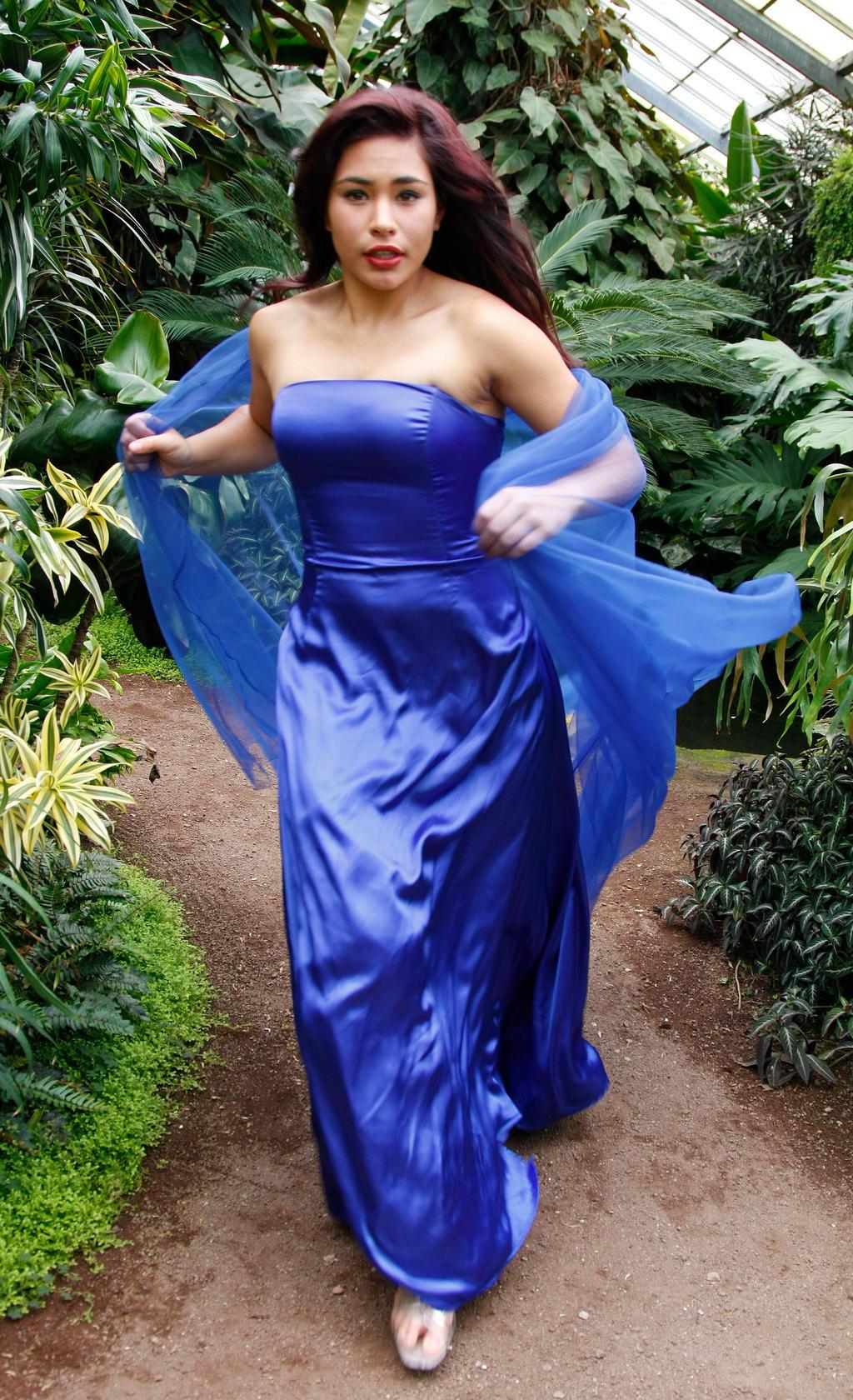 Blue Maiden 8 by CathleenTarawhiti