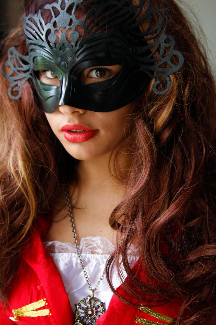 Masked woman 4 by CathleenTarawhiti
