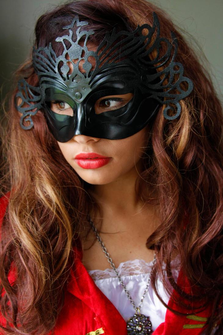 Masked woman 6 by CathleenTarawhiti