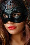 Masked woman 7