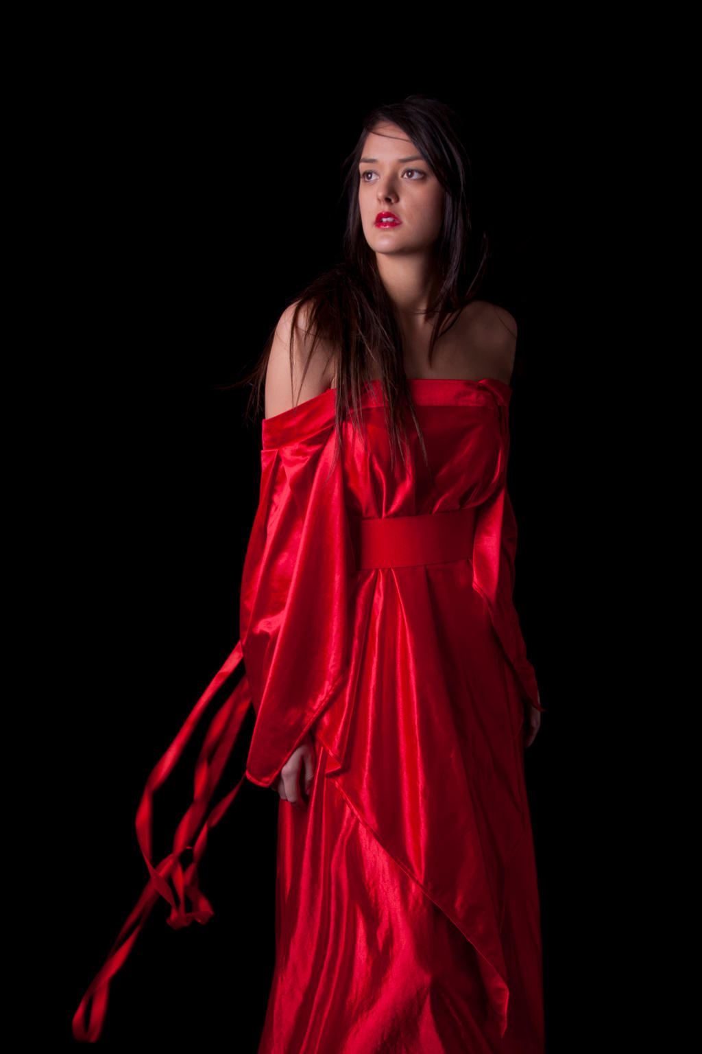 Woman in a red dress 6 by CathleenTarawhiti on DeviantArt
