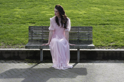 Danielle pink dress 32