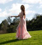 Danielle pink dress 22 by CathleenTarawhiti