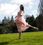 Danielle pink dress 24