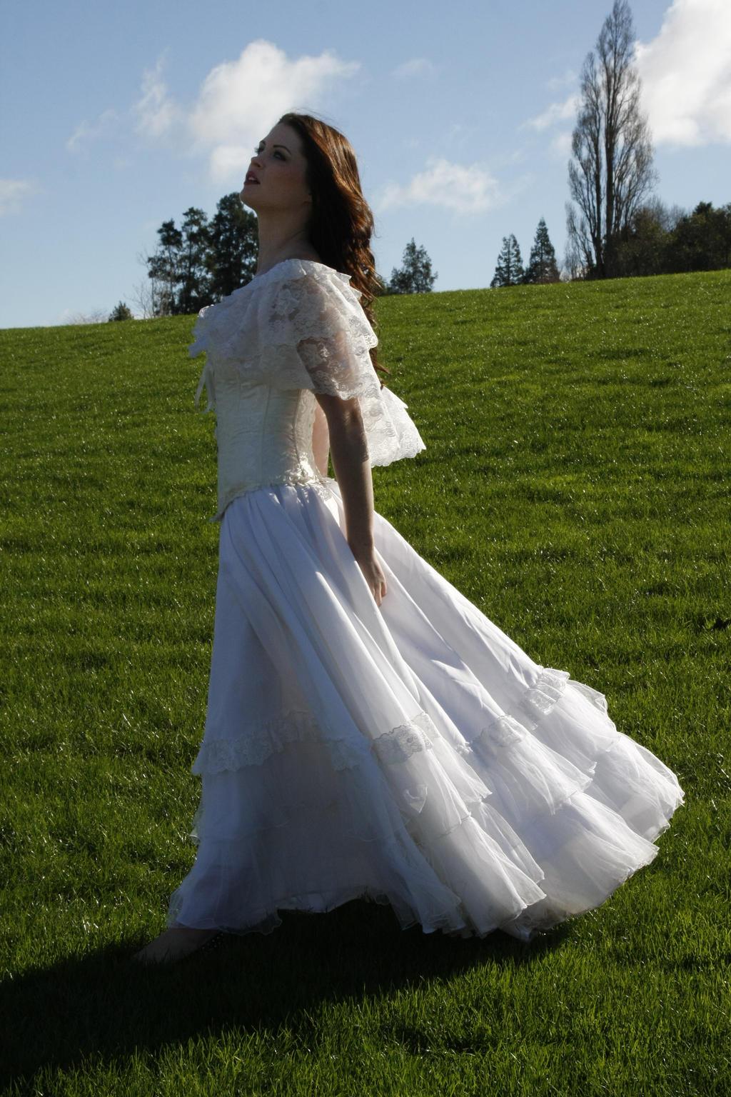 Danielle white dress 9 by CathleenTarawhiti