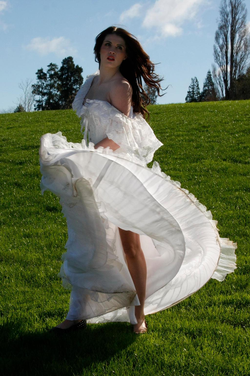 Danielle white dress 13 by CathleenTarawhiti