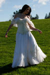 Danielle white dress 14