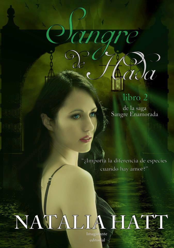 Book cover - Sangre de Hada by Natalia Hatt by CathleenTarawhiti