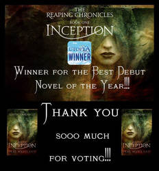 Book cover - Inception by Teal Haviland
