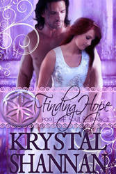 Book cover -Finding Hope Book 2 by Krystal Shannon