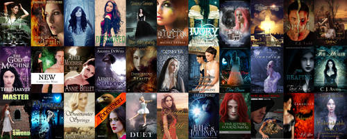 Books out now or coming soon 2 by CathleenTarawhiti