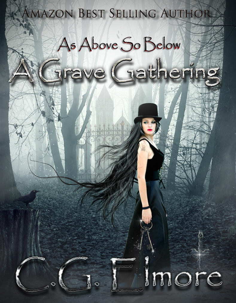 Book cover - A Grave Gathering by CG Elmore by CathleenTarawhiti