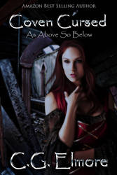 Book cover - Coven Cursed by C.G. Elmore by CathleenTarawhiti