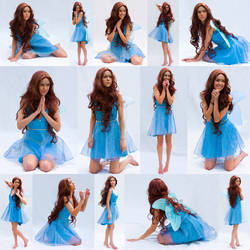 Blue faerie set