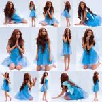 Blue faerie set by CathleenTarawhiti