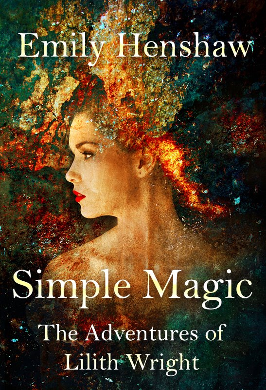 Simple Book Cover Art : Book cover simple magic by emily henshaw