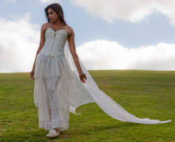 Zabeen white dress 3 by CathleenTarawhiti