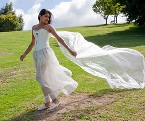 Zabeen white dress 6