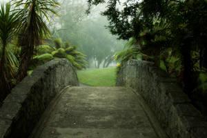 Green bridge stock by CathleenTarawhiti