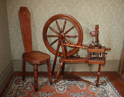 Spinning wheel stock