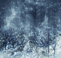 Snowy background by CathleenTarawhiti