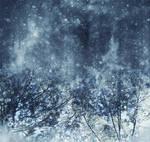 Snowy background by CathleenTarawhiti