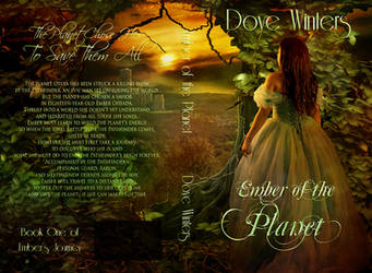 Book cover - Ember of the Planet by Dove Winters by CathleenTarawhiti