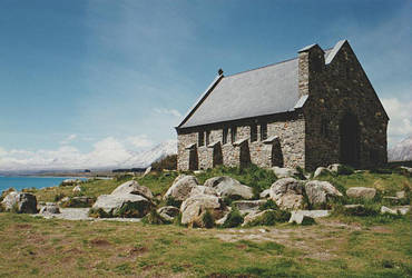 Little Church, Lake Tekapo, New Zealand by CathleenTarawhiti