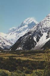Mount Cook, New Zealand by CathleenTarawhiti