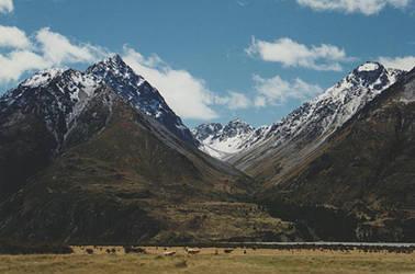 Mountains New Zealand by CathleenTarawhiti
