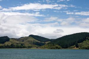 New Zealand stock 61 Lake Tutira, Hawke's Bay by CathleenTarawhiti