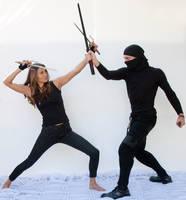 Couple fighting poses 19 by CathleenTarawhiti