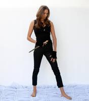 Action pose - woman 6 by CathleenTarawhiti