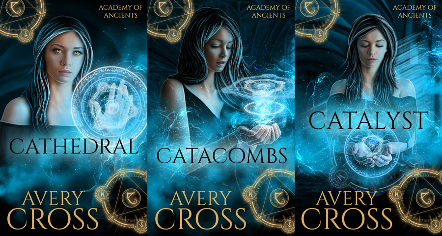 SOLD book covers for Avery Cross by CathleenTarawhiti
