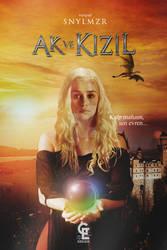Book cover - Ak ve Kizil