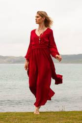 Aleida red dress 5