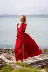 Aleida red dress 10