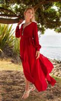 Aleida red dress 12