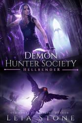 SOLD book cover - Demon Hunter Society: Hellbender
