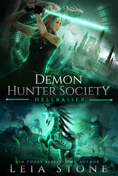 SOLD book cover - Demon Hunter Society: Hellraiser