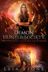 SOLD book cover - Demon Hunter Society:Hellslinger