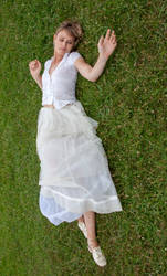 Aleida white dress 10
