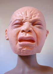 Bird Box bald man crying stock 5 by CathleenTarawhiti