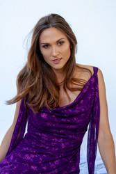Monique purple dress 2 by CathleenTarawhiti