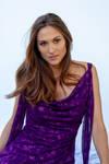Monique purple dress 2
