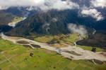 Aerial - South Island, New Zealand 4 by CathleenTarawhiti