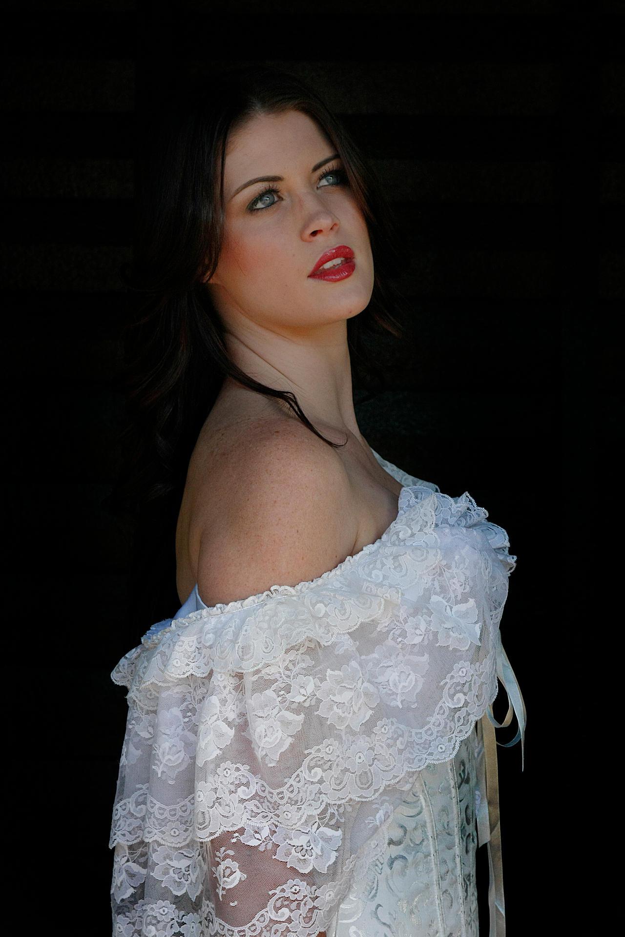 Danielle white dress 18