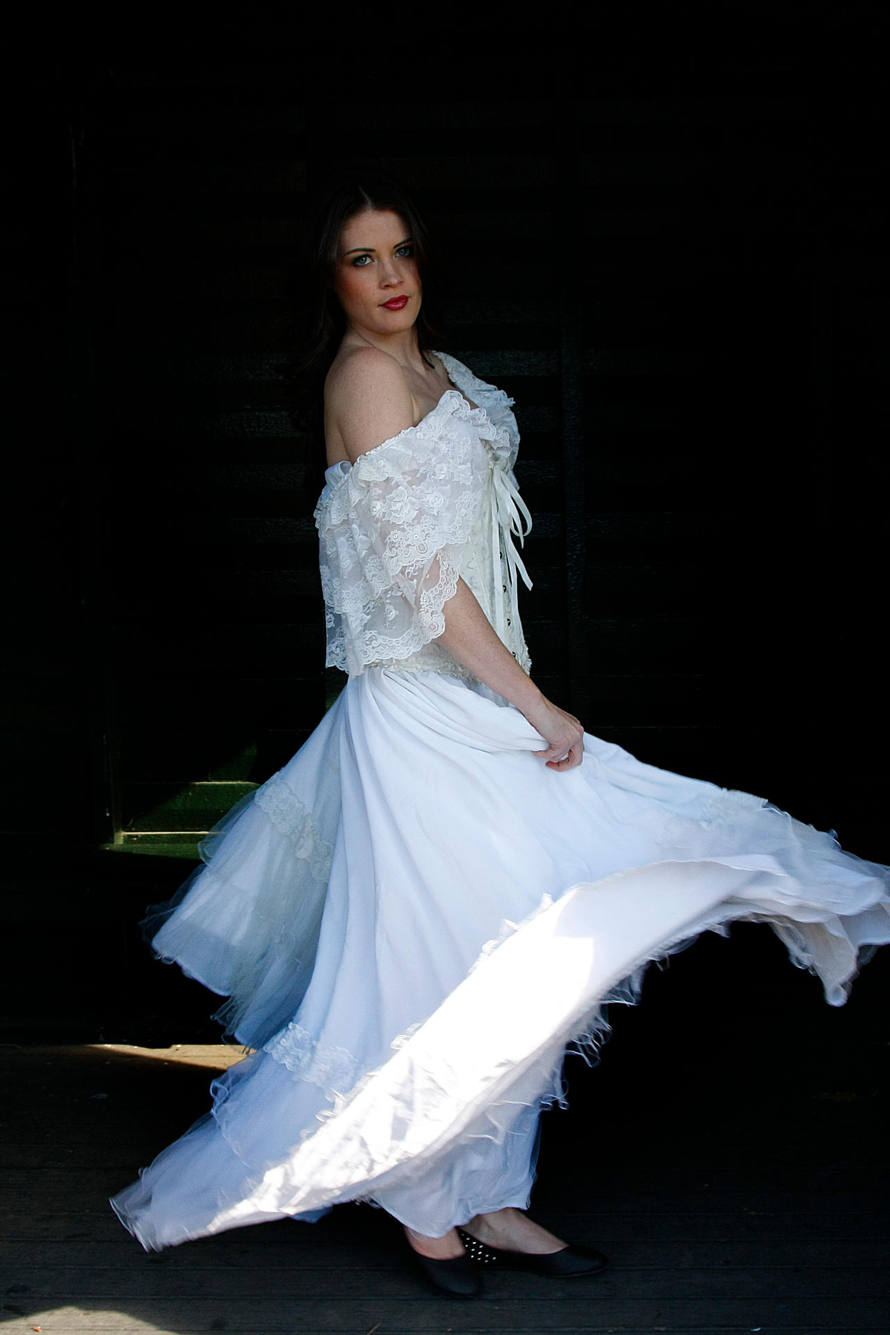 Danielle white dress 22